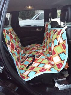 Tutorial backseat dog cover