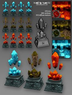 LOWPOLY (sub 1000~ triangle models) - Page 344 - Polycount Forum