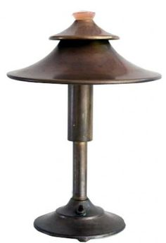 Walter Von Nessen American Art Deco Brass Table Lamp | Modernism