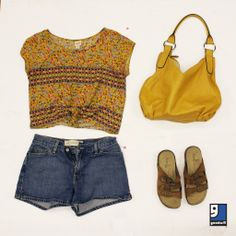 Found at #Goodwill: your outdoor concert outfit.