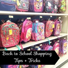 Back to School Shopping: Tips and Tricks | Knoxville Moms Blog