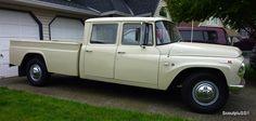 great 67 international harvester crewcab pickup-very very rare now...