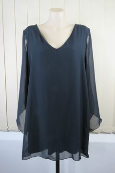 Size XL 16 Ladies Black Dress Gothic Vintage Inspired Edgy Rock Cocktail Design