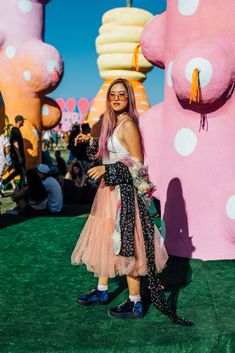 Proof You Don't Need A Flower Crown To Do Festival Fashion+#refinery29