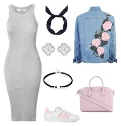 """""""Untitled #91"""" by mrs-alsalamah ❤ liked on Polyvore featuring Givenchy, adidas, yunotme and Van Cleef & Arpels"""