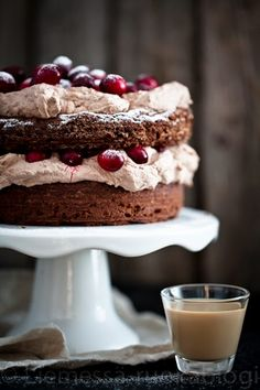 To try next year! Cupcake Cakes, Cupcakes, Merry Little Christmas, Baileys, Sweet Recipes, Cheesecake, Baking, Desserts, Food