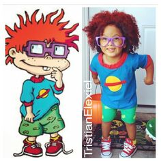 chuckie finster costume therugrats 90skids halloween