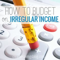 Although it might seem impossible to budget on irregular income, it's actually even more essential that you do. Those in contracting, self-employment, or commission based jobs MUST read this post to discover the 3 tricks to a recreate a steady paycheck and discover financial security!