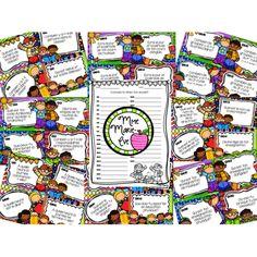 Cartes à tâches - Quiz de la rentrée Ensemble de 36 cartes à tâches à utiliser sous forme de jeu pour la rentrée scolaire! Les élèves doivent répondre à des questions relatives à leur nouvelle classe et à l'école: camarades de classe, nouvel horaire hebdomadaire, matériel utilisé, spécialistes, personnel de l'école, locaux, etc.