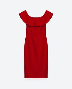 Image 8 of OFF-THE-SHOULDER DRESS from Zara