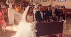 Olga i Radosław klip ślubny, Produkcja: Charles-Studio Lace Wedding, Wedding Dresses, Studio, Film, Fashion, Bride Dresses, Movie, Moda, Bridal Gowns