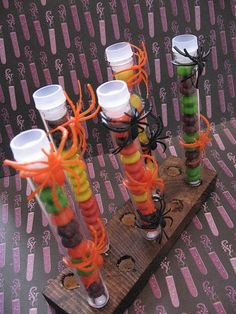 Candy Test Tubes & Stand, great office/teacher gifts