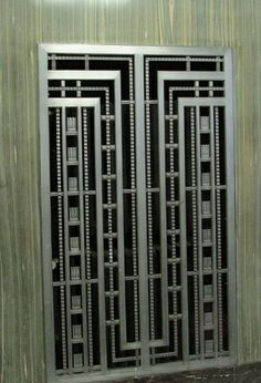 The Art Deco Pleasures of 29 Broadway Net Door, Cast Iron Table Base, Iron Doors, Iron Gates, Steel Image, Main Entrance Door, Grill Door Design, Art Deco Door, Iron Gate Design
