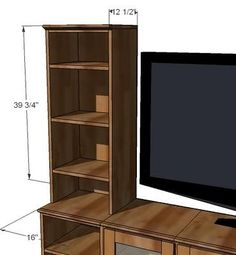 Bookshelf Hutch for Basic Collection