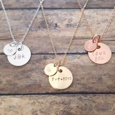 Personalized Initial Necklace – Gracefully Made
