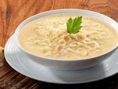 Sopa de fideo con queso