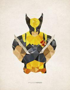 Polygon Heroes.