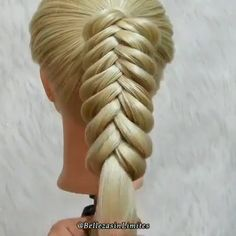 wedding hairstyles videos Amazing By: bellezasinlimites Easy Hairstyle Video, Easy Hairstyles For Long Hair, Braids For Long Hair, Braided Hairstyles, Wedding Hairstyles, Updo Hairstyle, Braided Updo, Hair Tutorials For Medium Hair, Medium Hair Styles