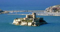 Climb The Rocky Shores of Islands Off The Coast of Marseilles
