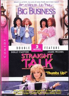 DVD - Big Business / Straight Talk Starring:  Bette Midler, Lily Tomlin and Dolly Parton