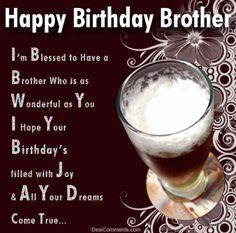 126 Best Birthday Brother Images Happy Birthday Images Happy