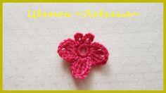 Вязаный Цветок «Лобелия» ✿ Вязание крючком ✿  Lobelia Flower ✿ Crochet