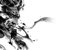 I really love Yoji Shinkawa's loose, sketchy, painterly style, and how much Konami embraced it for the style of Metal Gear's out-of-game art.