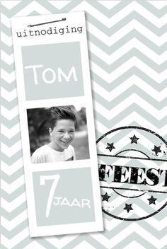 lovz.nl Hippe uitnodiging -jongen - groen-verjaardagsfeestje - uitnodigingen voor je kinderfeest - zelf maken