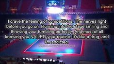 Cheer is like Drugs,Once you Start your automatically addicted.(: