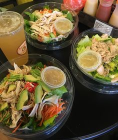 We sampled all of the Kardashian and Jenner sisters' go-to salad orders, as seen on Keeping Up with the Kardashians