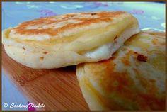 Galette aux 3 fromages (fêta, mozzarella, ricotta)