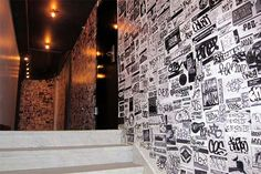 Paper Graffiti Wall Sticker