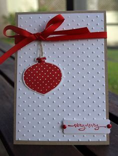polka dot decorations by JoieDeVivre House - Cards and Paper Crafts at Splitcoaststampers