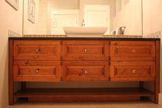 Custom Bathroom Cabinets-Legacy Mill & Cabinet
