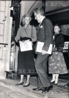 22 December 1987 Priness Diana At The Royal College Of Music.... royalty 22 Dec 1987