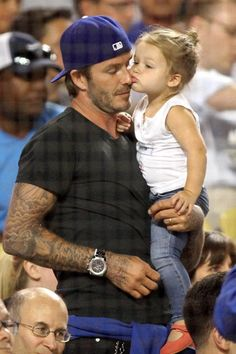David Beckham and daughter!