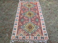 VİNTAGE kilim deken kilim Anatolische tapijt
