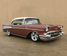 PALM BEACH AUCTION PREVIEW:  This custom 1957 Chevy Bel Air was originally a California car and includes its original registration certificate. Everything is new, from the Art Morrison chassis to a GM Performance fuel-injected 350ci Ram Jet crate engine connected to a Tremec 5-speed manual transmission.
