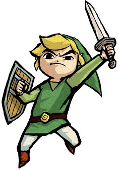 Link Jumping - Characters & Art - The Legend of Zelda: The Wind Waker HD