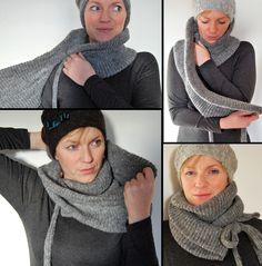 Wrap Scarf #knitting #inspiration