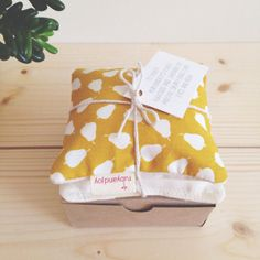 Lovely Lavender and Flaxseed eye pillow by rubyandjoy on Etsy, £10.00
