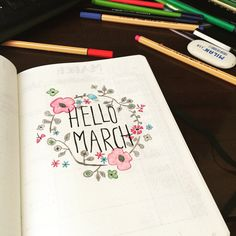 Bullet Journal Journey — My February memories.