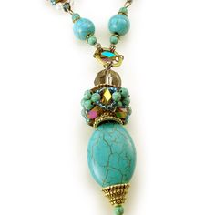 Milan Spring Necklace for $18.00