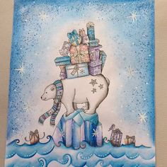 Take a peek at this great artwork on Johanna Basford's Colouring Gallery!: