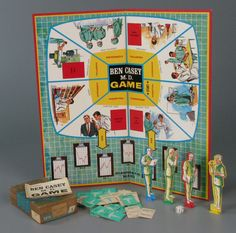 111.2855: Ben Casey M.D. Game | board game