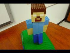 LEGO MINECRAFT - HEROBRINE Minecraft Brick, Minecraft Sword, Minecraft Room, Minecraft Stuff, Minecraft Party, Lego Brick, Little Boy Pictures, Lego Sculptures, Lego For Kids