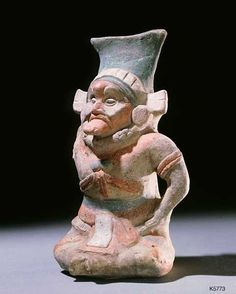 Jaina old man Ancient Maya (Jaina, Mexico), n.d. Clay, paint