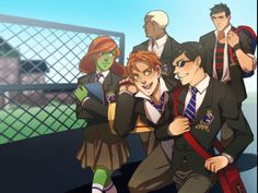 Young justice at Gotham Academy