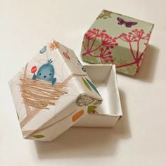 Repurposing chistmas greeting cards creative ideas pinterest take those old greeting cards and create these unique paper boxes twitchetts upcycled card boxes m4hsunfo
