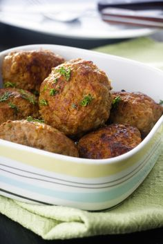 Meatballs for Babies & Toddlers